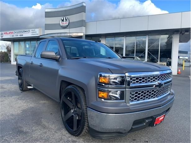 2014 Chevrolet Silverado 1500 LT 5.3L V8 LOWERED 24? DUBS WRAPPED