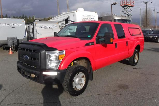 2013 Ford F-250 SD XL Crew Cab Short Box 4WD with Canopy