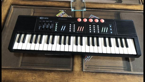 Kids Electric Tabletop Keyboard ( by Curtis )