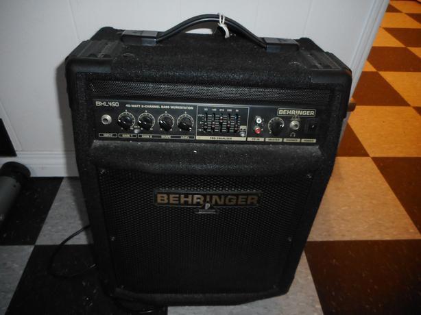 45W Behriger Portable Bass Amp