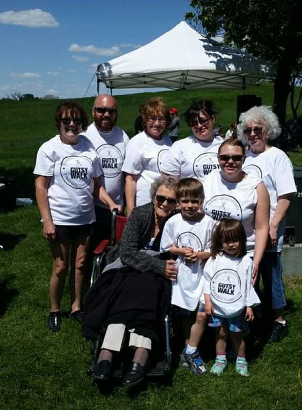 2020 Gutsy Walk for Crohn's & Colitis - Stenhouse Family