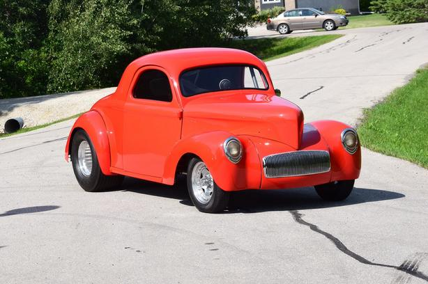 1941 willys steel body coupe