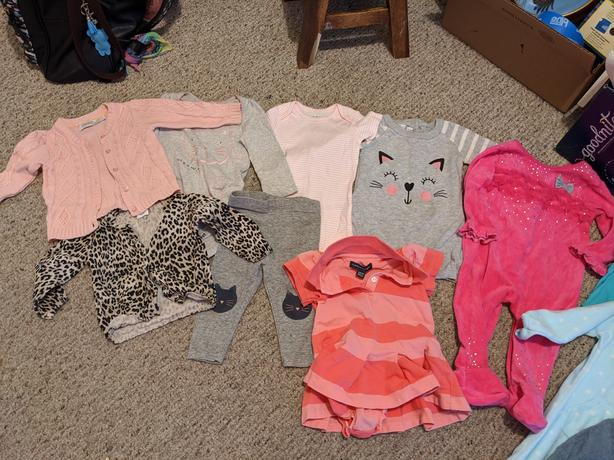 6-9 Month clothing lot! *May take individual pieces*
