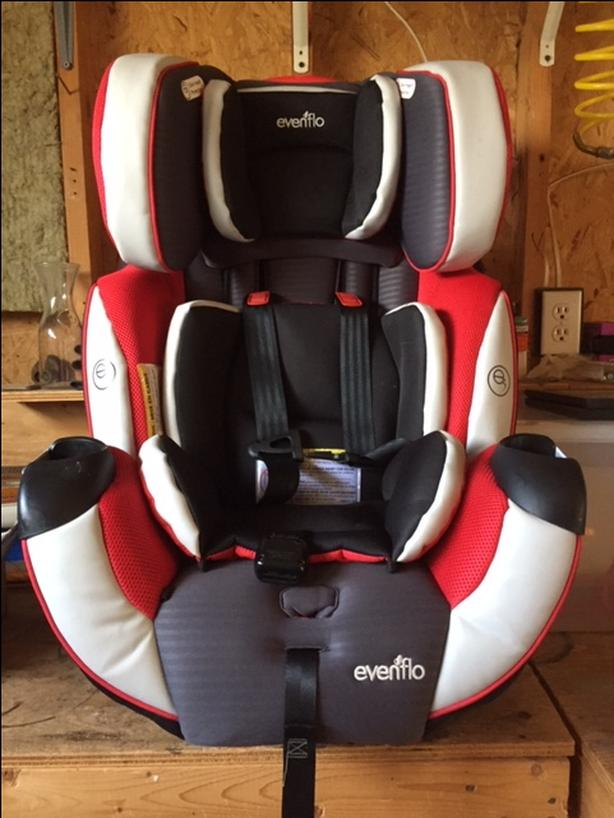 evenflo Symphony All in One Child Restraint system