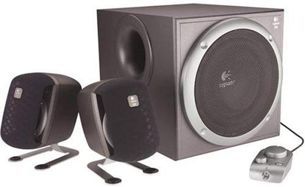 Like New Logitech Z2200 2.1 Computer Speaker System - $130