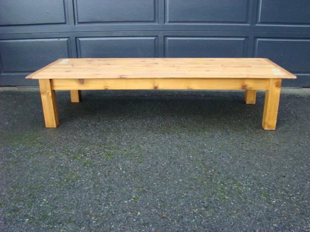 Custom Made Pine Coffee Table