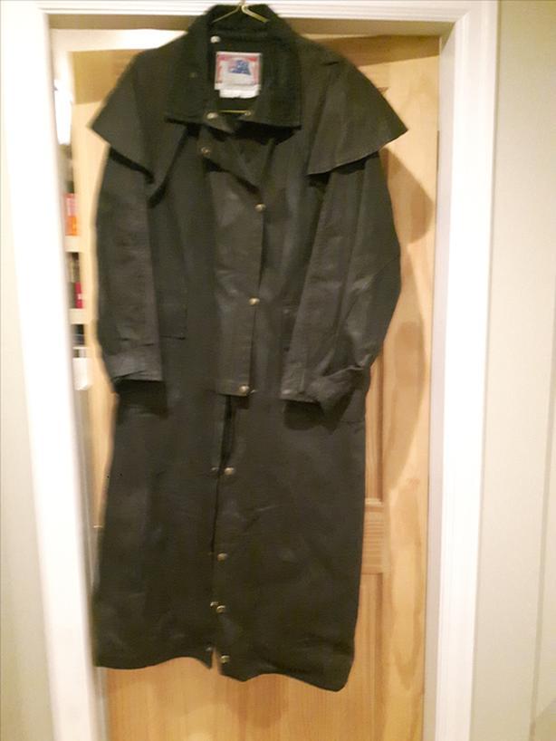 Koolah Oilskin coat