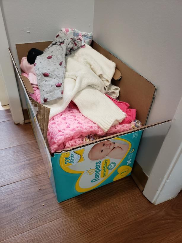 Newborn and 0-3 month baby girl lot
