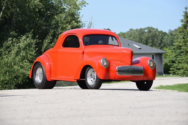 1941 steel body willys coupe