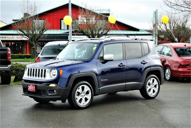2017 Jeep Renegade Limited 4X4 *NAV* *LEATHER*