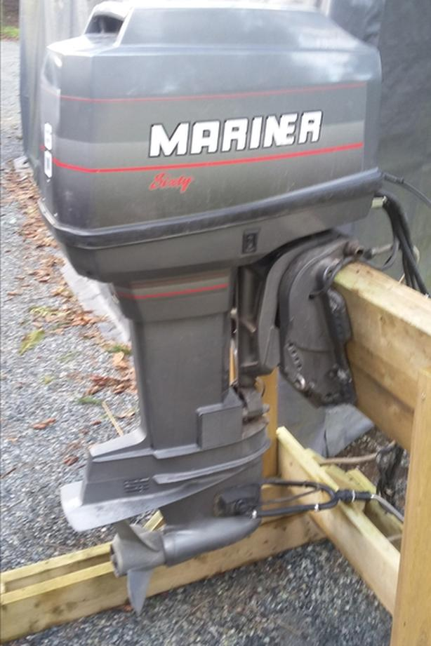 60 HP MARINER - REDUCED PRICE FOR QUICK SALE