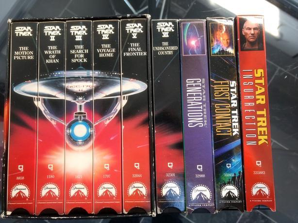 Original Star Trek VHS Movies