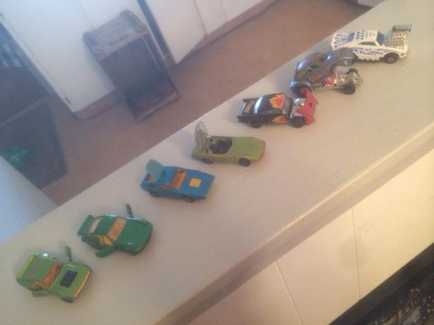 Vintage 1970's matchbox cars