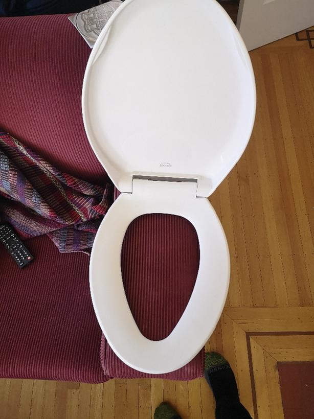 Bevis Elongated Toilet Seat
