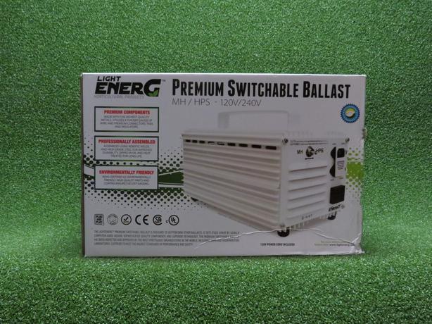 enerG premium switchable 1000 watt ballast