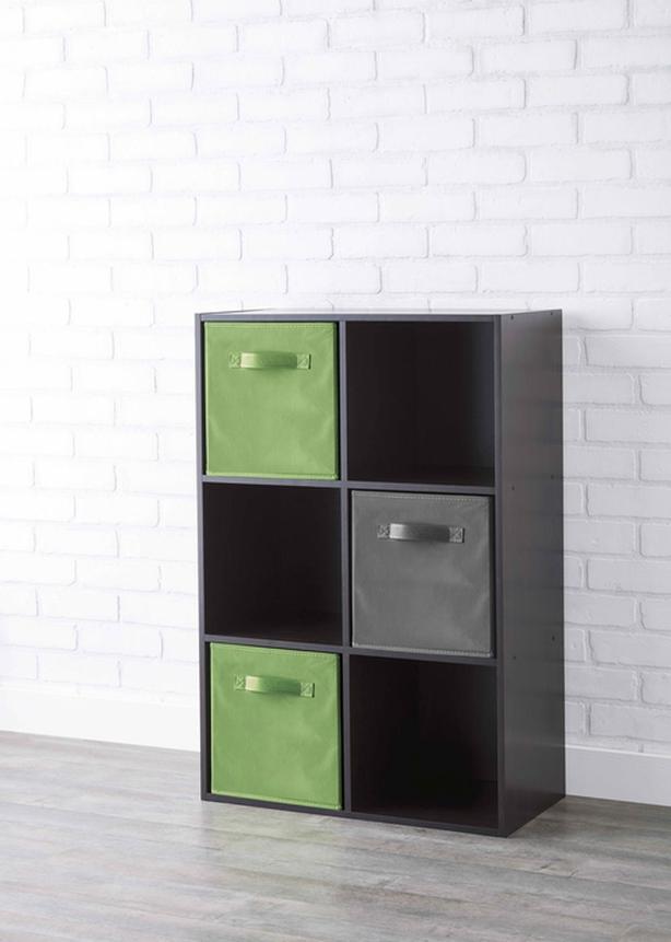 6-Cube Organizer Book Shelf