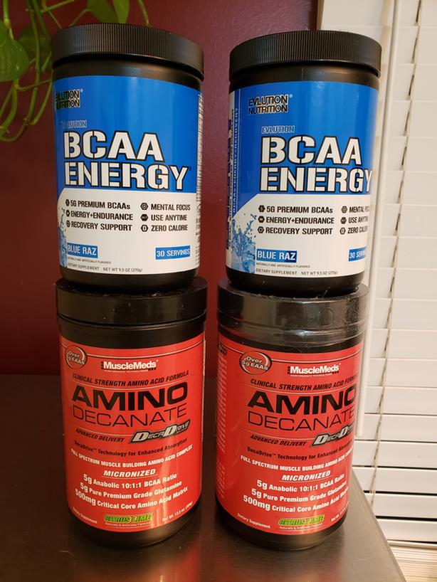 MuscleMeds Amino Decanate & Evolution Nutrition BCAA Bundle