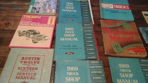 assorted manuals