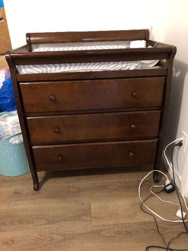 kidiway 3 drawer change table