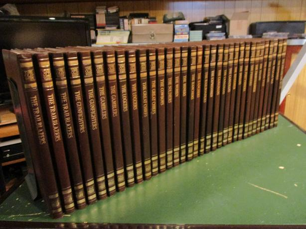 ESTATE BOOKS ON PIONEER WEST EXPANSION