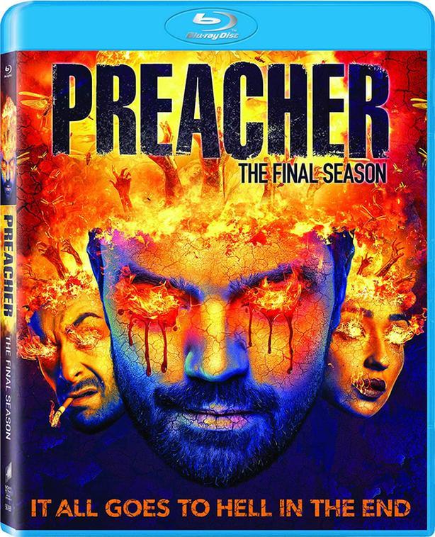 The Preacher: The Final Season on Blu-ray