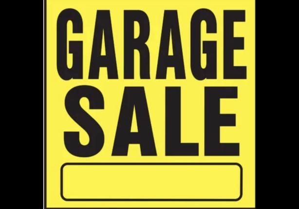 GARAGE SALE SATURDAY march 7