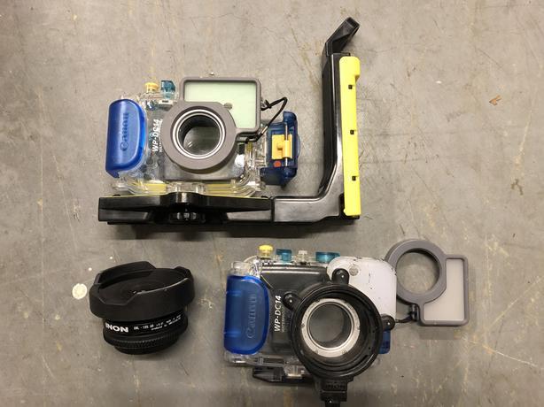 Underwater Camera Housings and Lens