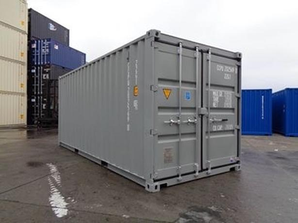 HONEYBOX INC. - CALGARY -  20' New One Trip Shipping Container
