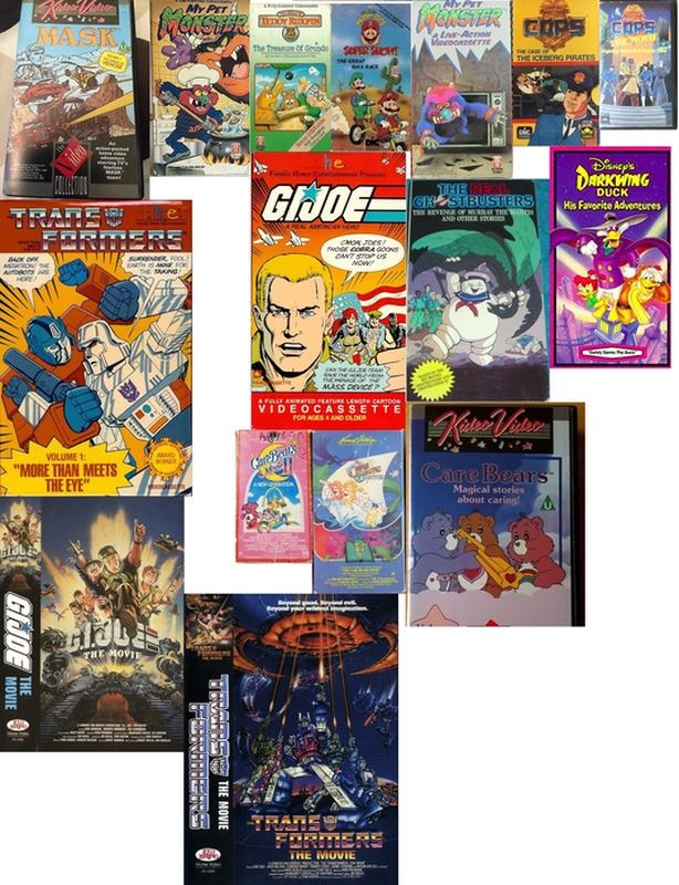 Wanted: Old Cartoons 80's & 90's VHS