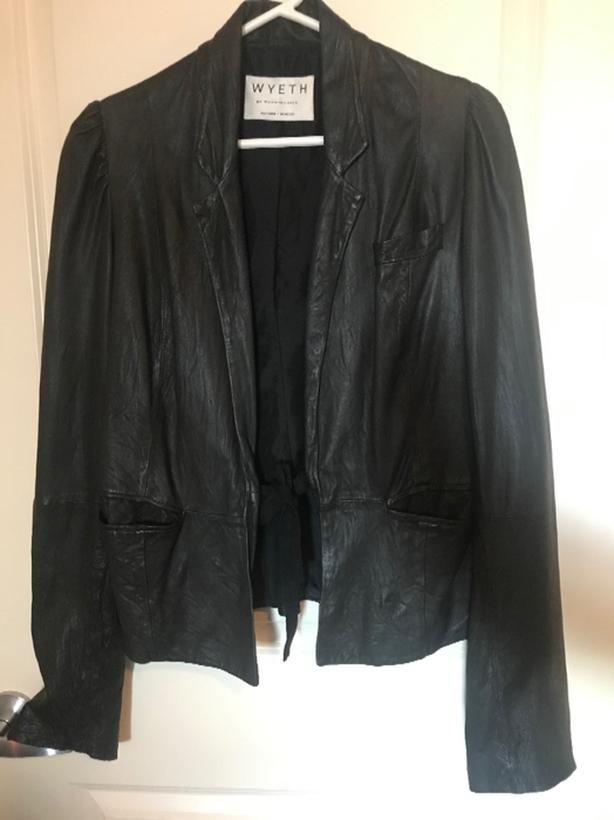 *Wyeth* Butter Leather Jacket