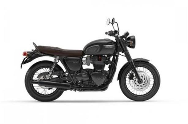 2020 Triumph Bonneville T120 Black