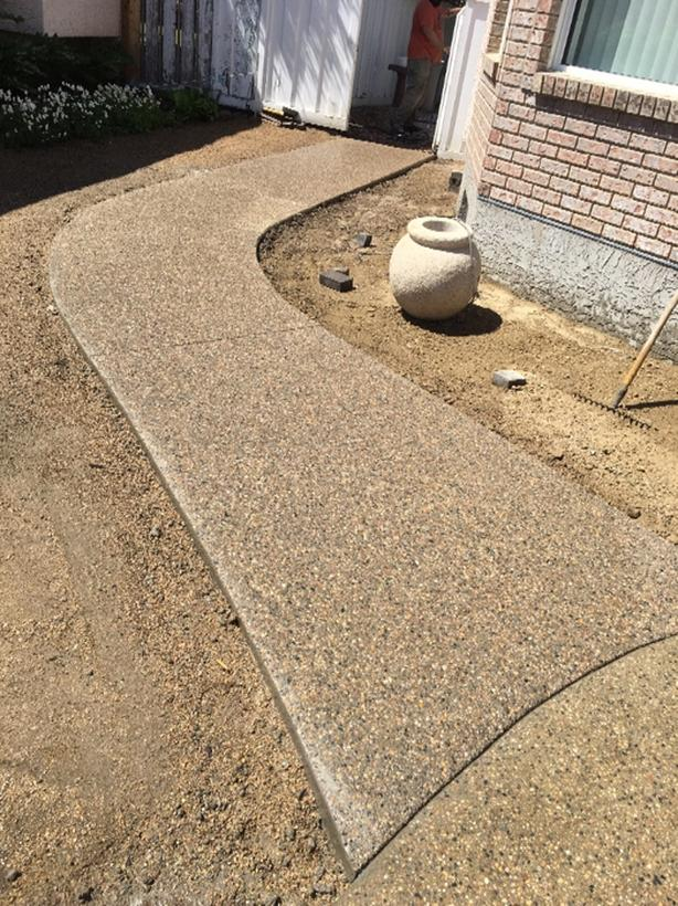 Concrete work: Foundations, footings, gradebeams, and flatwork