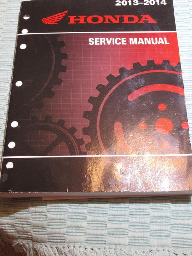 Honda CRF250L shop manual