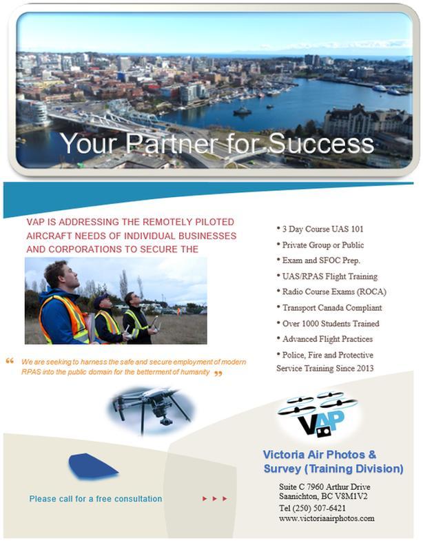 RPAS/Drone Training Program