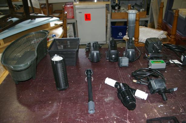 Pond / Aquarium pumps & filters and parts