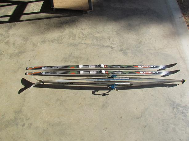 """Three different packages """"Cross Country Ski's"""" $25 to $175"""
