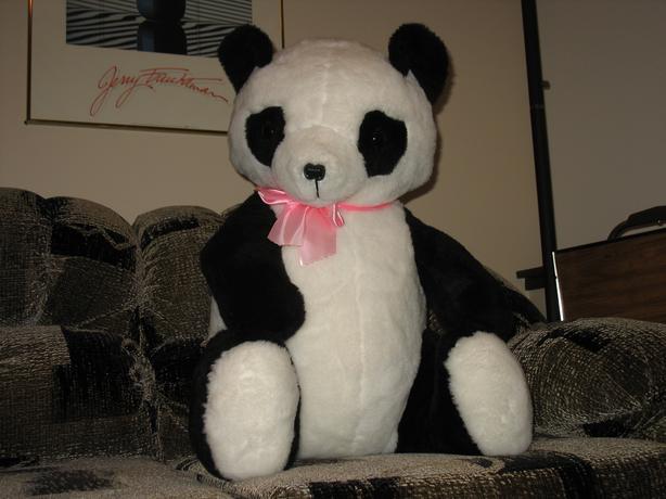 "Giant Panda Bear ""New used for display"""