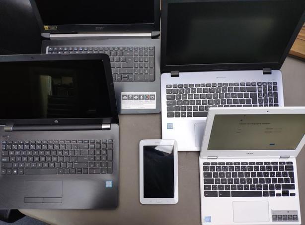 5x Samsung Galaxy Tab E Lite SM-T113 Tablets