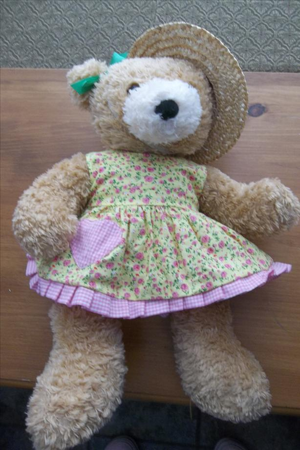 Exclusive build a bear sun dress teddy girl. $10.00