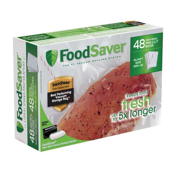 Assorted FoodSaver Vacuum Sealing Rolls & Pre-Cut Bags