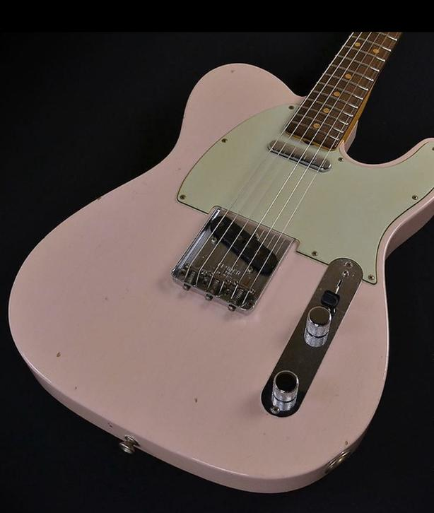 Wanted: Fender Custom Shop Telecaster - Shell Pink