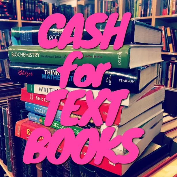 Buying Textbooks: Get cash for your Textbooks!
