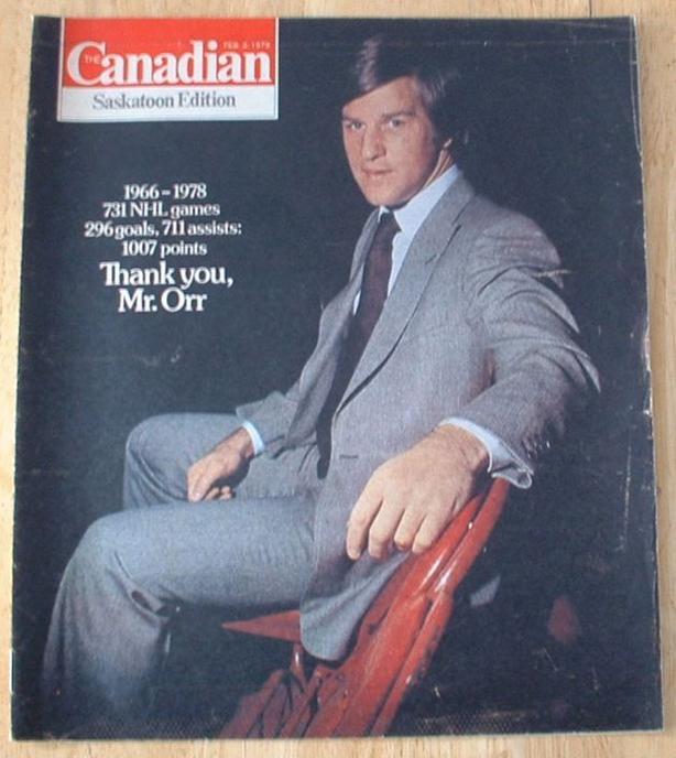 3 Bobby Orr Magazines Boston Bruins