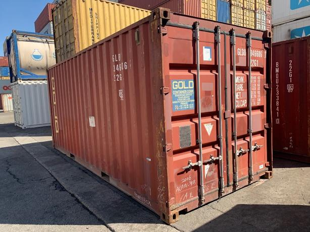 HONEYBOX - Delta - 20'STD Used Cargo Worthy - shipping containers.
