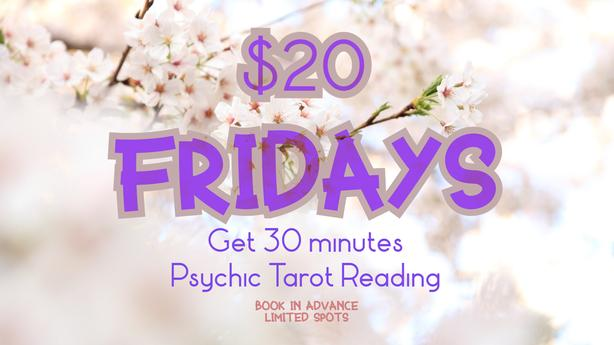 Psychic Tarot Reading! Discounts and Videos