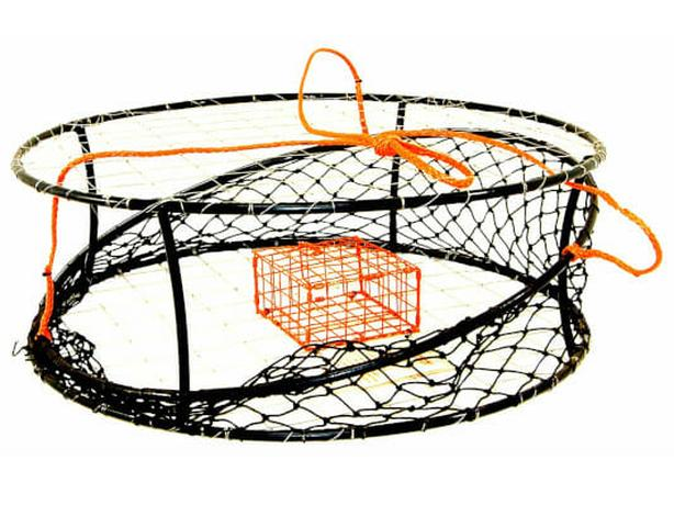 Commercial ring style crab trap
