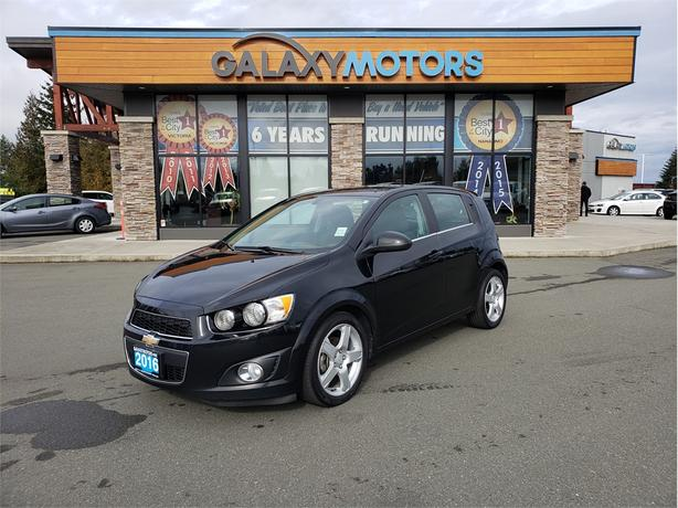 2016 Chevrolet Sonic LT - Back-Up Camera, Satellite Radio, Bluetooth