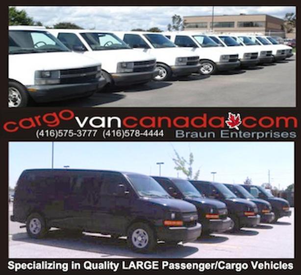 *VANS* BUS * 8 12 & 15 PASSENGER* 2O16-08 *AWD RWD* Express/ Savana /Ford  CARGO