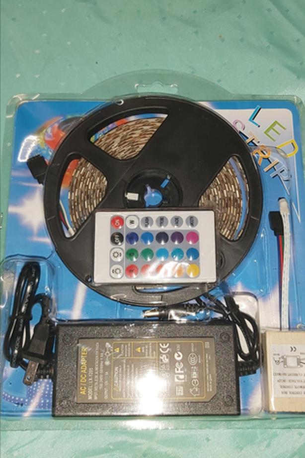 Led Stripe With Adapter And Remote Control
