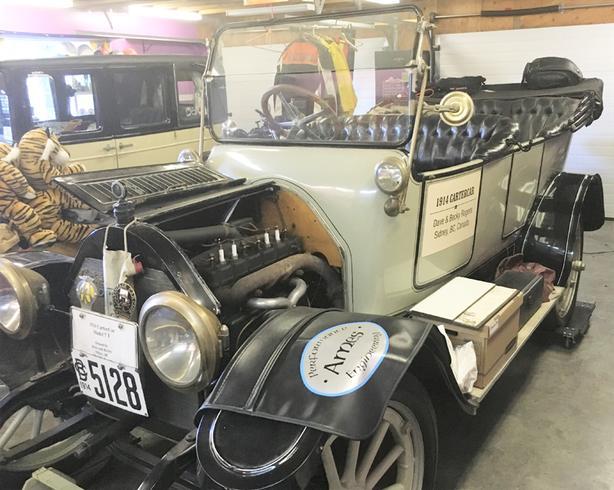Antique Show Cars, Nova, Parisienne, Harley, Suzuki, 307 Engine